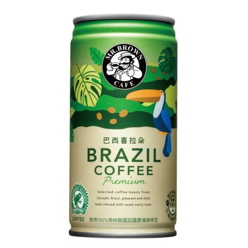 Mr. Brown Brazil kávé 240ml
