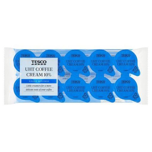 Tesco UHT kávétejszín 10% 10 x 9,8 ml