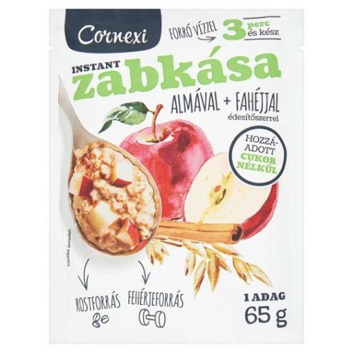 Cornexi zabkása almával és fahéjjal, édesítőszerrel 65g