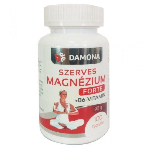 Damona szerves magnézium+B6 forte tabletta 100db