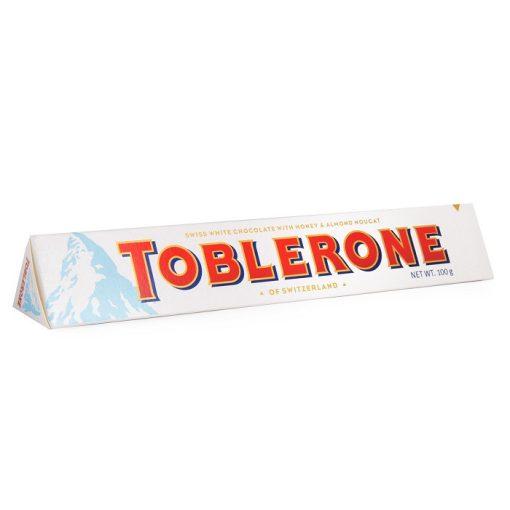 Toblerone svájci fehér csokoládé100g