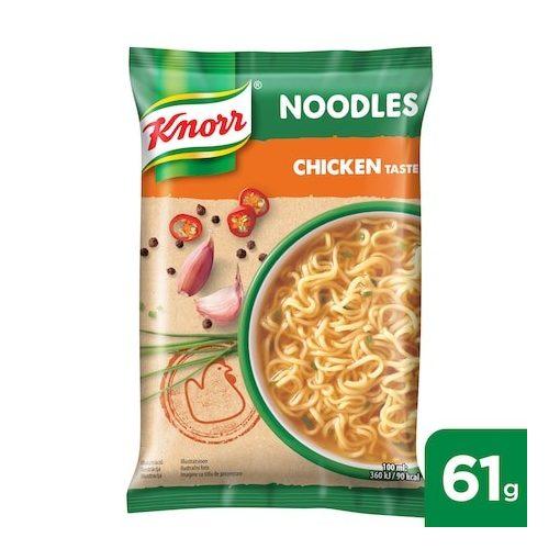 KNORR Noodles csirkés ízű instant tésztás leves 61 g