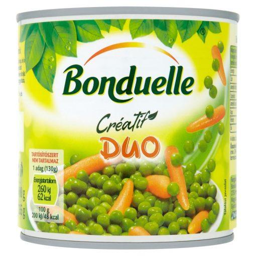 Bonduelle Creatif Duo borsó bébirépa konzerv 400g