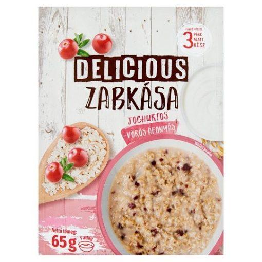 Cornexi Delicious zabkása joghurtos vörös áfonyás 65g
