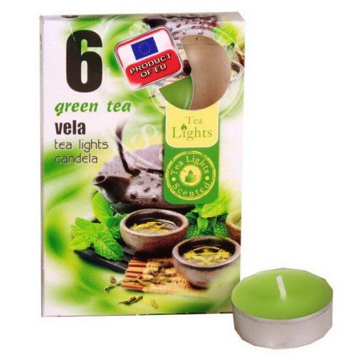 Illatmécses green tea illat 6 db-os
