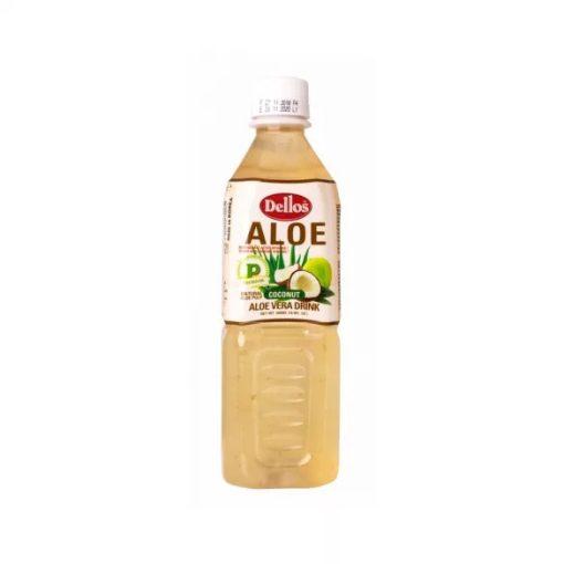 Dellos aloe vera ital kókusz ízesítésű 500ml