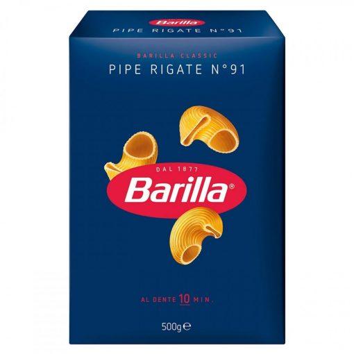 Barilla tészta pipe rigate 500g