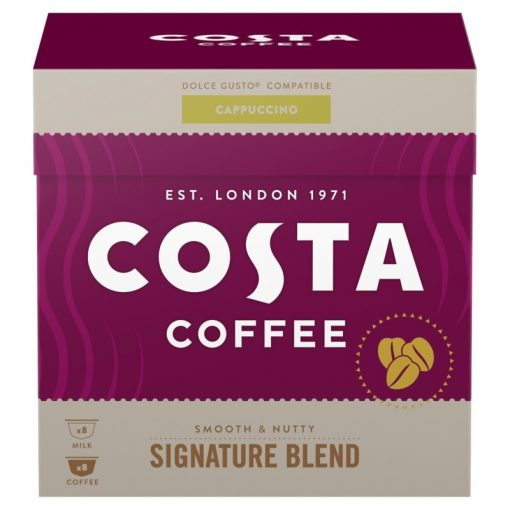 Costa Coffee Cappuccino kapszula 8+8db