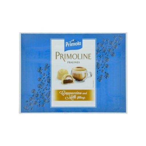 Kandia Primoline praliné fehér és tejcsokoldáé-cappucino 105g