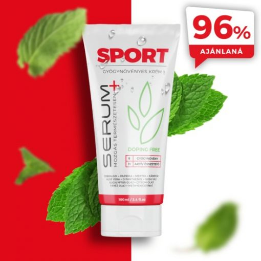 Serum Plus gyógynövényes sport krém 100ml