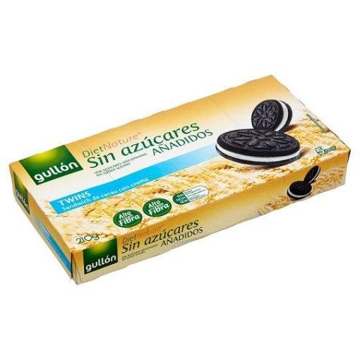 Gullón DietNature kakaós keksz krém töltelékkel, édesítőszerrel 5 x 42 g (210 g)