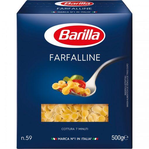 Barilla tészta Farfalline 500g