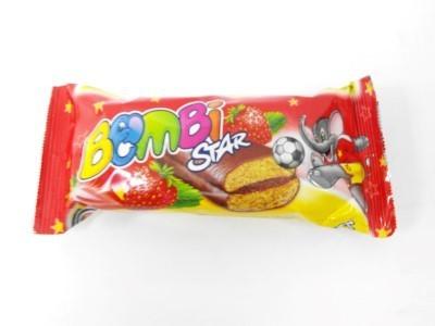 Bombi STAR puszedli epres 45g