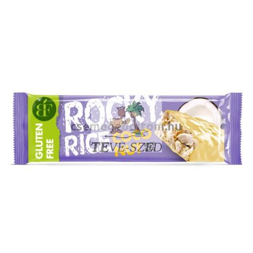 Rocky Rice gluténmentes puffasztott rizs szelet kókuszos 18g