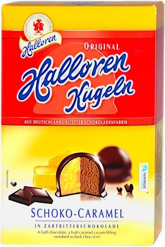 Halloren Praliné csokoládés-karamellás ízű töltelékkel 125g