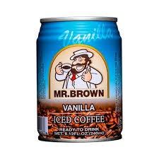 Mr. Brown Vanilia 240ml