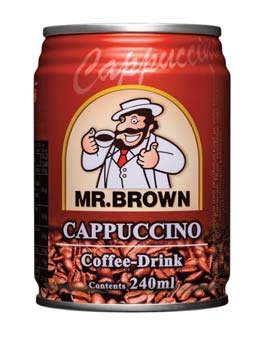 Mr. Brown Cappuccino 240ml